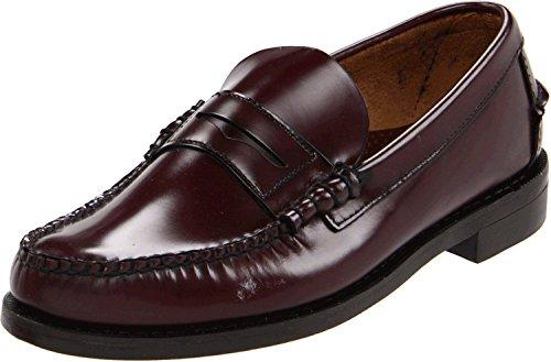 SEBAGO Classic 76654, Zapato mocasín Hombre, Color Burdeos, Piel, 42