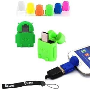Spice Boss Link M-5621 CompatibleCute Little OTG Adapter Micro USB OTG to USB 2.0 Adapter