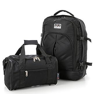 Ryanair 55x40x20 cm MAX Cabina Mochila y 35x20x20cm Segundo bolso de mano del equipaje – Tome tanto de manera gratuita!