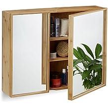 Suchergebnis auf Amazon.de für: spiegelschrank holz - Relaxdays