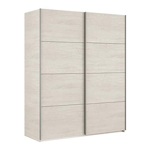Habitdesign ARM150Y Armario Dos Puertas correderas, Modelo Hera, Blanco Alpes, 150 x...