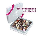 Pott au Chocolat edle Pralinen Box - 25 feinste Köstlichkeiten - ein besonderes Geschenk für Frauen und Männer zum Geburtstag, die beste Mama, eine liebe Freundin, zur Hochzeit oder...