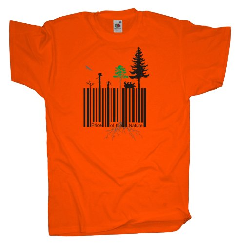 Ma2ca - Price of the Nature - Nuturschutz - T-Shirt Orange