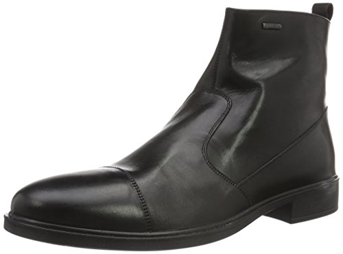 Geox Herren U Loris A Abx D Kurzschaft Stiefel, Schwarz (BLACKC9999), 47 EU