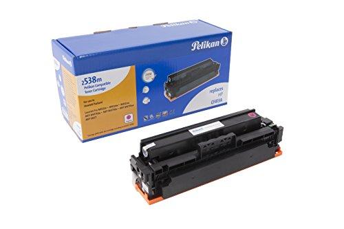 Pelikan Toner ersetzt HP CF413A (passend für Drucker HP CLJ Pro M 452 / MFP M 477A)