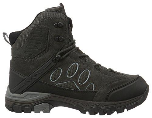 Jack Wolfskin Herren Impulse Texapore O2+ Mid M Trekking-& Wanderstiefel Grau (Tarmac Grey)