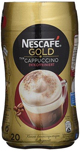 Nescafé Gold Typ Cappuccino Entkoffeiniert 250g Dose, 5er Pack (5x 250g)