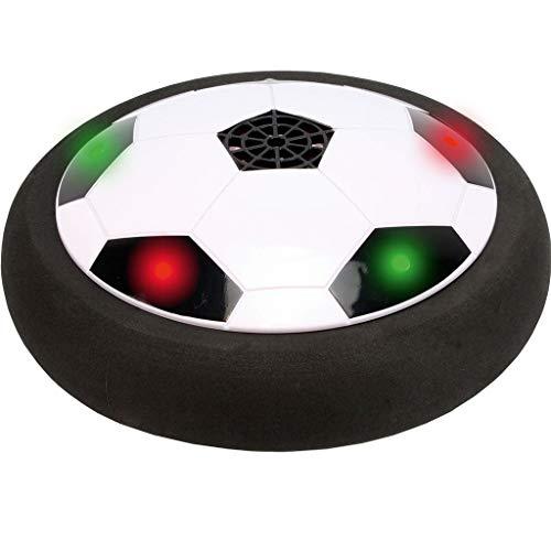 r Fußball LED | Leuchtende Fussball Spielscheibe mit Luftkissen & bunten LEDs | Ideales Outdoor Spielzeug & Fussball Kinder Geschenk ()
