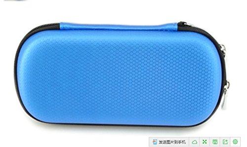 USB-Schlüssel-Beutel Große Fähigkeit Universalelektronik-Zusätze Fall / USB-Antrieb Shuttle-Beutel / Gesundheit (blau) (Lady-bag Mulberry)