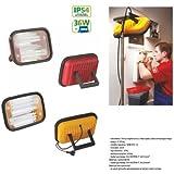 Helle Handlampe Tragbar Arbeitsleuchten für Camping, nächtliche Notreparaturen bei KFZ HOBBY 36W Yellow