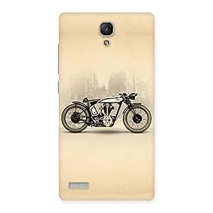 Neo World Bike Ride Back Case Cover for Redmi Note 4