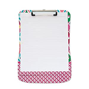 Clipboard and Paper set -Multi Ikat writing pad kids writing board for school paper clip fancy stationary