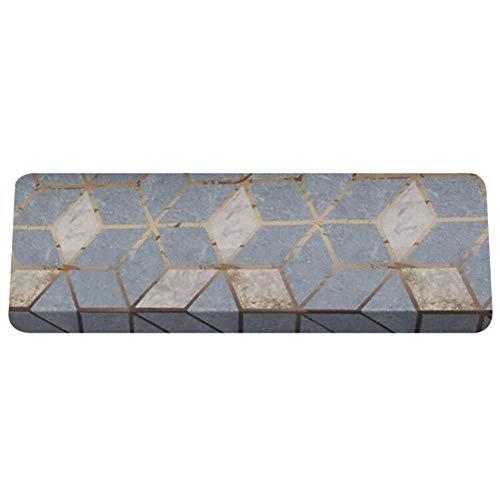 Preisvergleich Produktbild WJSWM hochwertige PVC-PU-Teppiche für Treppenstrecken Teppiche Anti-Slip Selbstbehälterreger waschbares Rechteck Osmanen,  3 Farben (Größe: 55x22x4cm), A / 55x22CM, 5pieces
