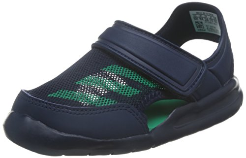 sports shoes 2c5c0 57970 9. adidas Kinder Sandale FortaSwim C collegiate navycore green s17collegiate  navy 28