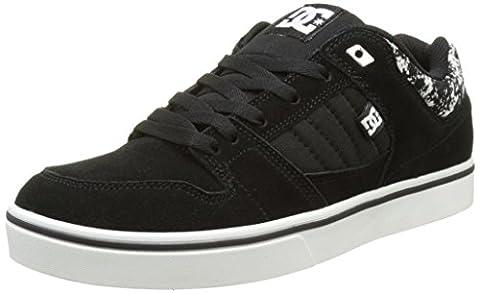 DC Shoes Course 2 SE, Baskets Basses Homme, Noir (Black/Print), 44 EU