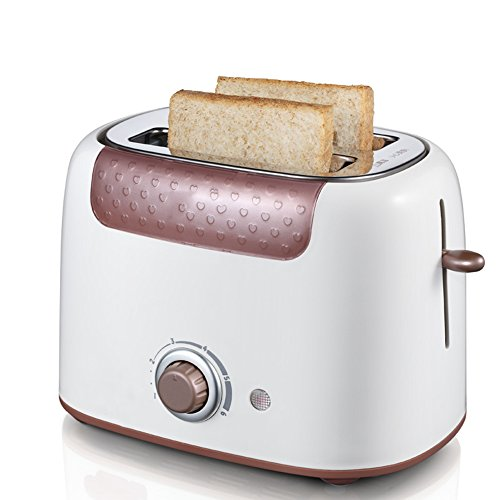 Bread machine LVZAIXI 2 Slice Toaster 825-980 W Variable Browning Control Removable Crumb Tray Electronic Sensor – Large Surface Heating Elements For Consistent Baking Performance