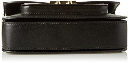 Michael Kors Sloan Editor, Borsa a Tracolla Donna, 21 x 15.9 x 5.7 cm Nero