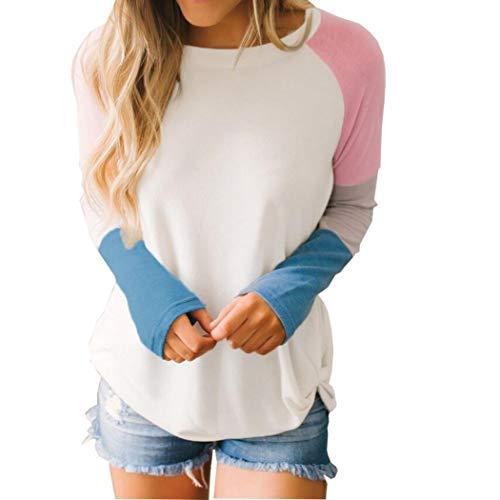 SEWORLD Women Long Sleeve Tie Pullover Ladies Casual Tops Holiday Sweatshirt Blouse