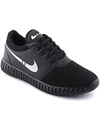 RODDICK 852 Men's Black Canvas Casual Outdoor Shoes/Shoes For Mens Casual Stylish/mesh Casual Shoes For Men