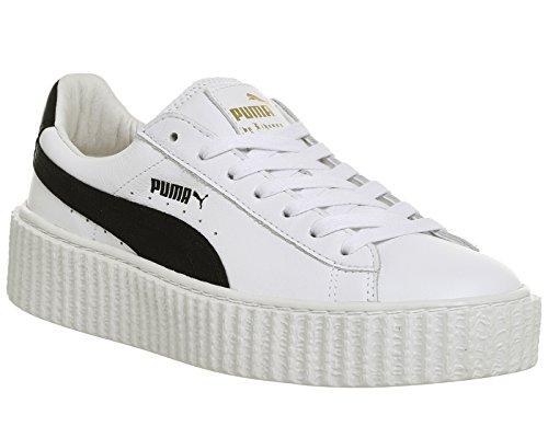 0719d96b3effb6 Puma Creeper Wrinkled brevet fenty by Rihanna 501 brevet (Black) - Blanc -  White