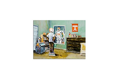 Glory Haus Tennessee to Dream of Canvas, multicolor (Tennessee Football Vols)