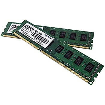 Patriot Signature Line - Memoria RAM (DDR3, 1600 MHz, 8 GB, CL9, 2 x 4 GB)