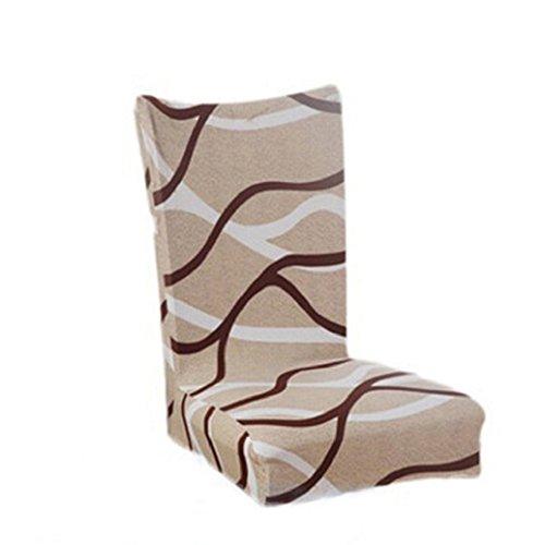 Viel Elastischer (Gemini Stuhlhussen, 1er Pack, hochwertige Stuhlbezüge, Stuhlüberzüge, passend für viele Stuhlgrößen elastisch, bi-elastic)