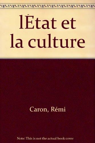 L'Etat et la culture