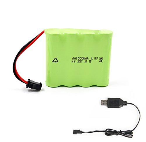 4 8v 1000mah batterie rechargeable chargeur usb pour voiture rc 123jeu. Black Bedroom Furniture Sets. Home Design Ideas