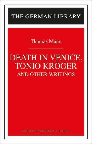 death-in-venice-tonio-kroger-and-other-writings-thomas-mann-german-library-hardcover