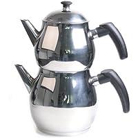 Elettrico con Cagla teiera tè Caydanlik Turco