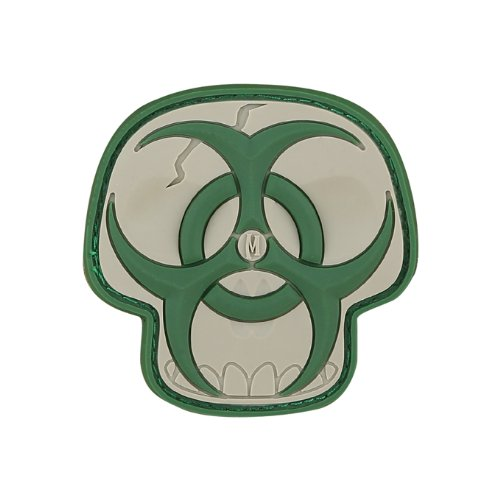 Arid Biohazard Skull Patch