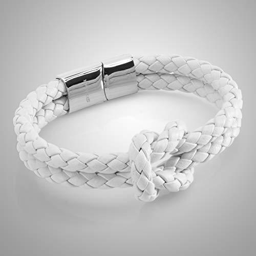 Zoom IMG-2 18cm bianco bracciale da donna