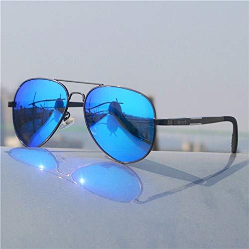 Sonnenbrille Frauen Sonnenbrille Designer Sonnenbrillen Mit Flacher Oberseite Übergroßen Schatten Sommer Gradient Polarisierte Gläser Dunkel Blau