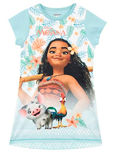 Disney Mädchen Moana Nachthemden Blau 128