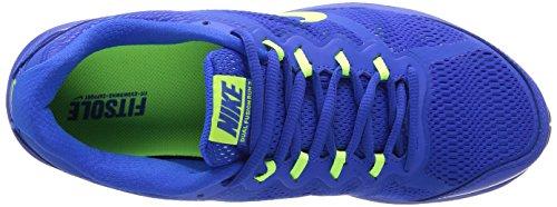 Nike Dual Fusion Run 3 653596 Herren Laufschuhe Training Blau (Hyper Cobalt/Volt-University Blue-White)