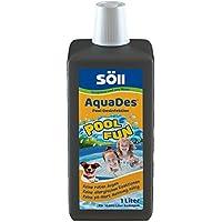 Söll AquaDes 1 l, Pool und Planschbecken Desinfektion, Keine allergischen Reaktionen, roten Augen, pH-Wert-Messung