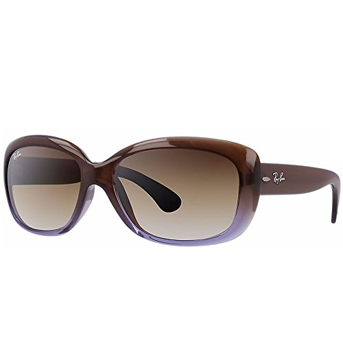 Ray-Ban Jackie Ohh Sunglasses in Brown Gradient Lilac RB4101 860/51 58