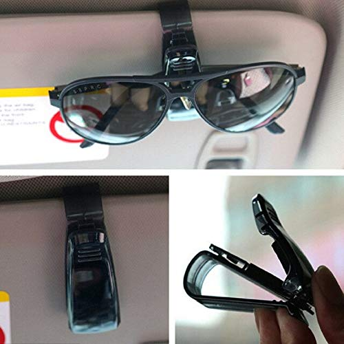 Billion Deals Autoverschluss Cip Auto Zubehör ABS Auto Sonnenblende Sonnenbrille Brillenhalter Ticket Clip für Cruze