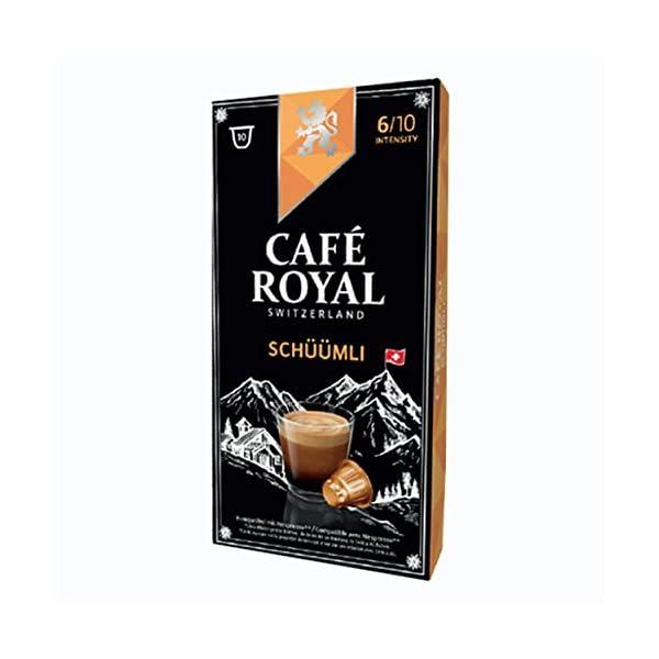 411i2N9S9aL._SS600_ Café Royal schueuemli, caffè, caffè tostato, Capsule, Nespresso Compatibile, 20Capsule