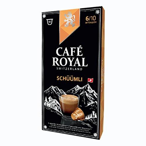Café Royal schueuemli, caffè, caffè tostato, Capsule, Nespresso Compatibile, 20Capsule 2
