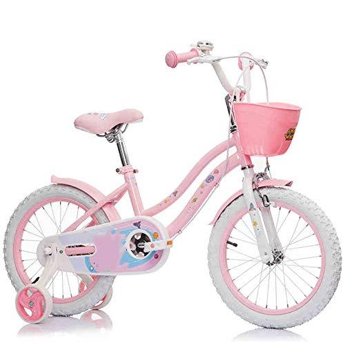 YUMEIGE Kinderfahrräder Freestyle Jungen Mädchen Kinder Kinder Kind Fahrrad Rosa 16