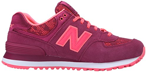 New Balance Womens 574 Classics Traditionnels Suede Trainers Lila
