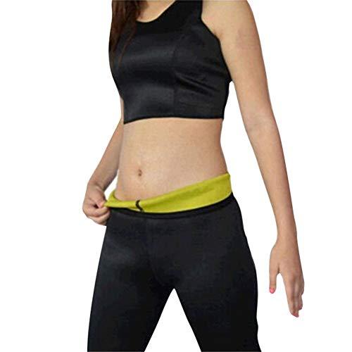 cf07f66e722e Hot Shaper Pantaloni in Neoprene Dimagrante Yoga Fitness,Nero,2XL