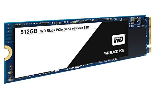 WD 512 GB PCIe SSD Read up to 2050 MB/s - Black