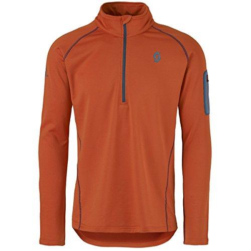 Scott Herren Defined Light Pullover burnt orange