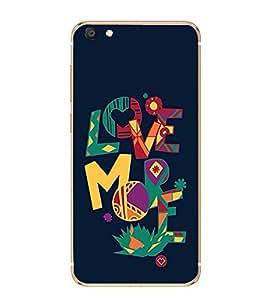 PrintVisa Colorful Quote High Gloss Designer Back Case Cover for vivo X7
