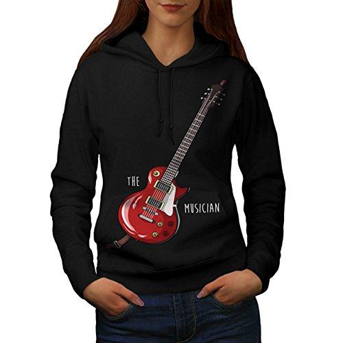 Das Musiker Bass Gitarre Frau L Kapuzenpullover | Wellcoda