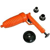 Pango Desatascador con funcionamiento a presión–Libera cualquier tipo de obstrucción (3ventosas).