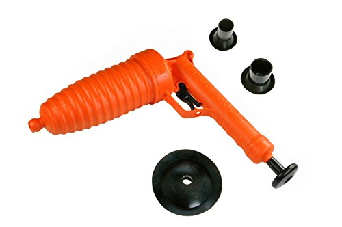 Pango Desatascador con funcionamiento a presión-Libera cualquier tipo de obstrucción (3ventosas).